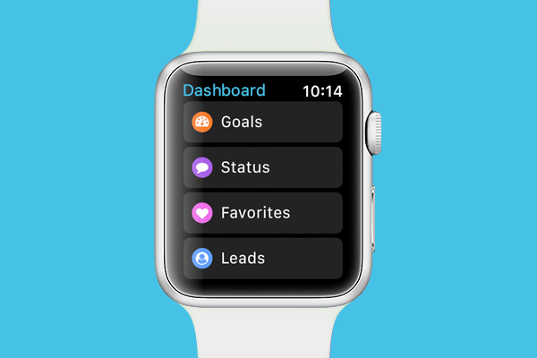 Gro CRM Dashboard for Apple Watch