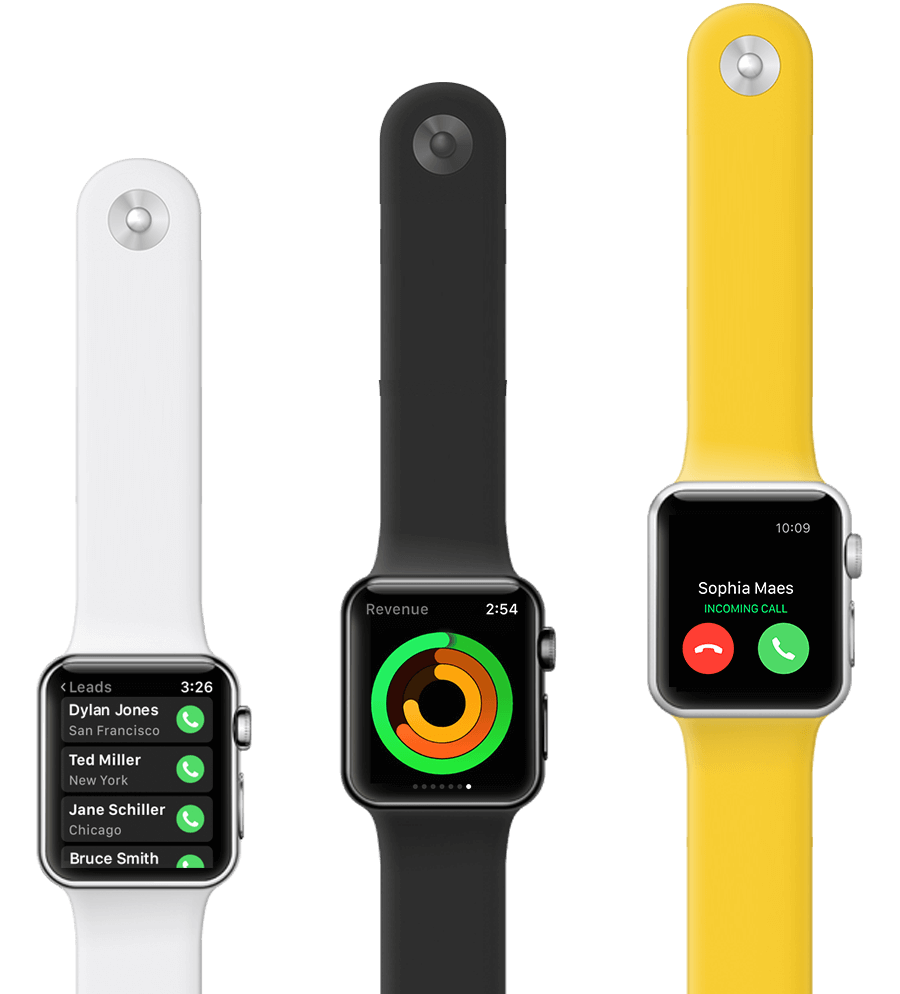 Gro CRM Apple Watch Monitor Your Business Health