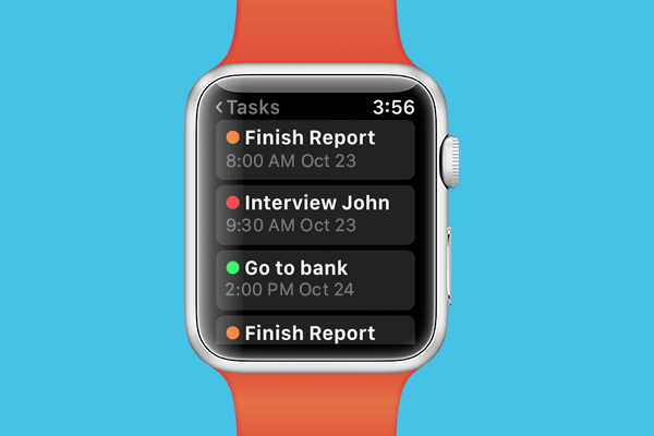 Gro CRM Task Management for Apple Watch