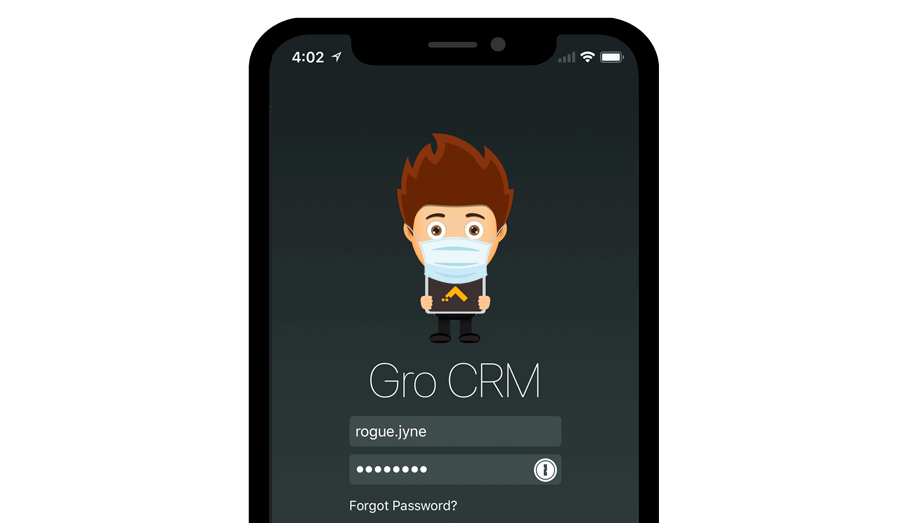 Gro CRM security