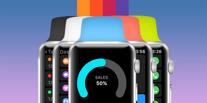 Gro CRM Apple Watch