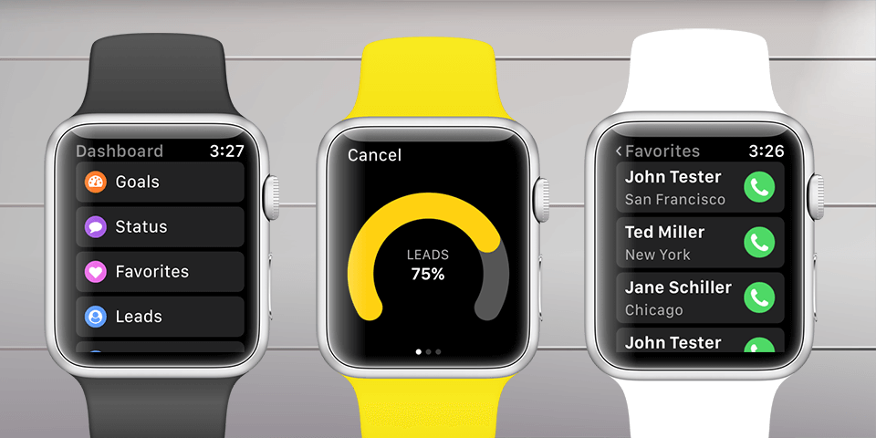 Hey, we just released Gro CRM Apple Watch 2.0 with watchOS4 support. Nice!